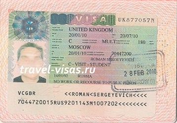 Великобритания виза, оформление визы в Великобританию (Англию) - документы, стоимость